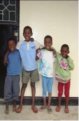 New kids Godson Farajeal, Addita and Agape
